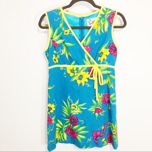 - Lilly Pulitzer vintage blue yellow size 4 …